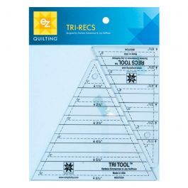 EZ Tri Recs Triangle Ruler