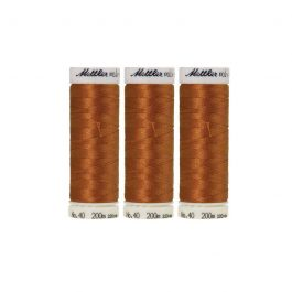 Mettler Polysheen- Pack of 3- 0932 Nutmeg