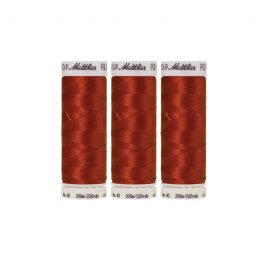 Mettler Polysheen- Pack of 3- 1312 Burnt Orange