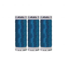 Mettler Polysheen- Pack of 3- 3901 Tropical Blue
