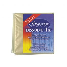 Dissolve-4X Water Soluble Stabilizer 47 inches x 1 yard