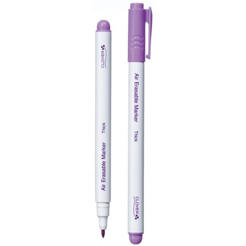 Clover - Air Erasable Marker Thick Purple