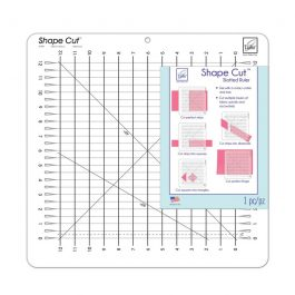 June Tailor- Shape Cut Slotted Ruler 12×12 Inches