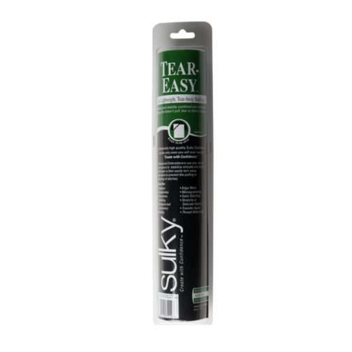 Sulky Tear-Easy Stabilizer - White - 12'' x 12 yd. Roll