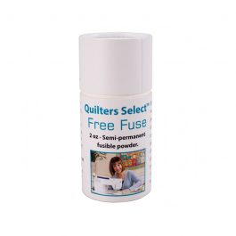 Quilter's Select Free Fuse- Semi Permanent Fusible Powder- 2 Oz.