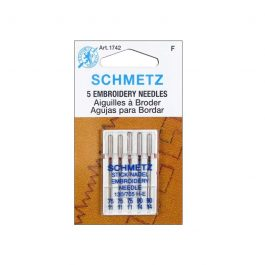 Embroidery Needles- 75/12 and 90/14 (5 Ct.)