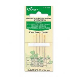 Clover Self-Threading Needles (Assorted)