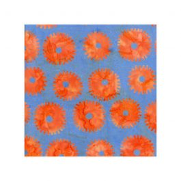 Kaffe Fassett- Saw Circles- Orange
