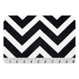 Printed Cuddle- Chevron Black/Snow
