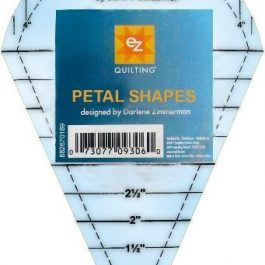 EZ Quilting Petal Shapes Acrylic Template