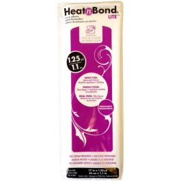 Heat n Bond Soft – Lite – Iron On Fusible – 17″ x 1.25yd