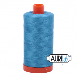 Aurifil 50 Wt Spool- Bright Teal
