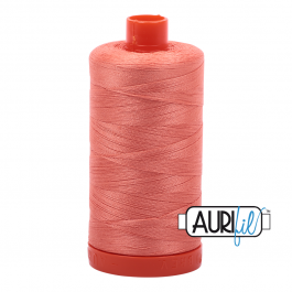 Aurifil 50 Wt Spool- Light Salmon