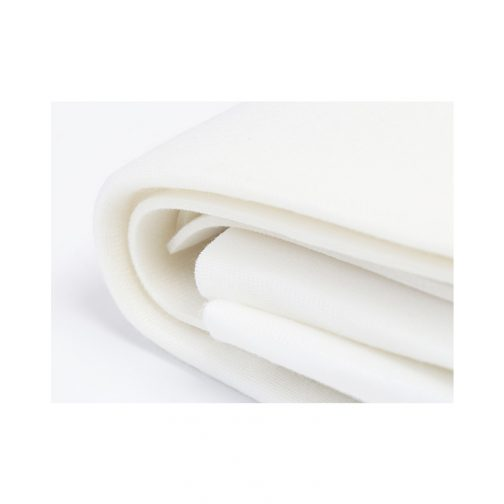 Soft and Stable White 100% Polyester Stabilizer 36in x 58in