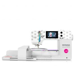 BERNINA 570 QE Tula Pink Special Edition with Embroidery Module