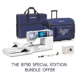 BERNINA 790Plus Peacock Special Edition Bundle