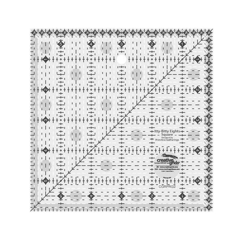 Creative Grids Itty-Bitty Eight 6″ x 6″
