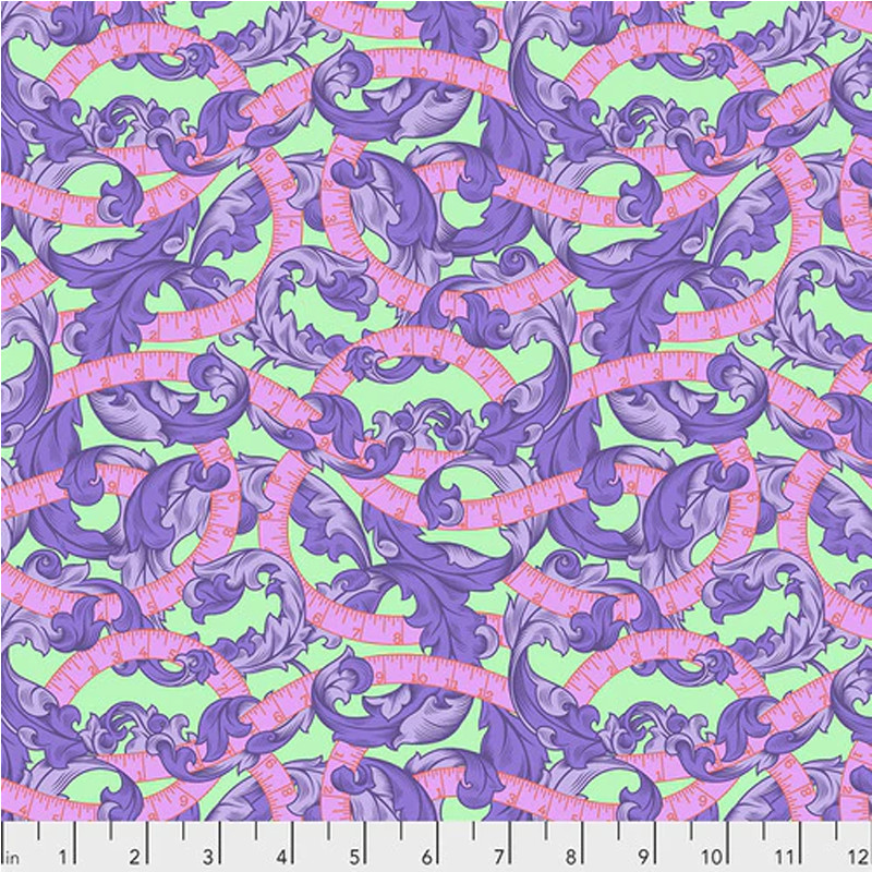 Tula Pink Fabrics- Measure Twice – Night