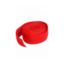 Fold-over Elastic 3/4in x 2yd Atom Red