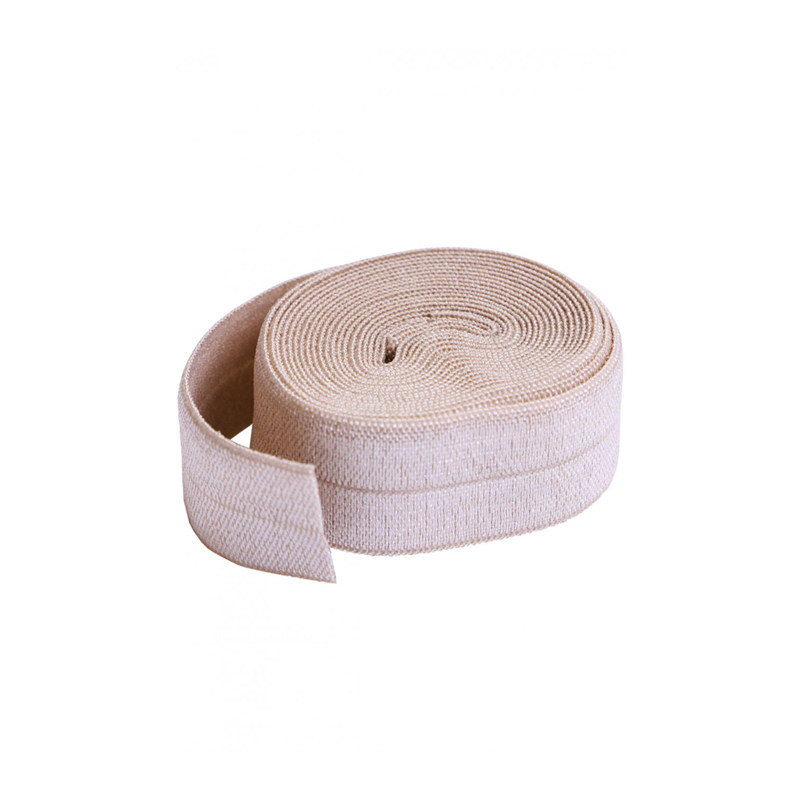 Fold-over Elastic 3/4in x 2yd Natural