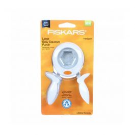 Fiskars Hexagon Squeeze Punch Large