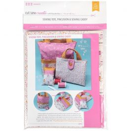 Moda-Cut Sew Create – Sewing Tote Pincushion and Caddy Panel