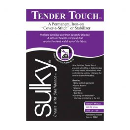 Sulky Tender Touch Stabilizer – White – 20 inches x 36 inches