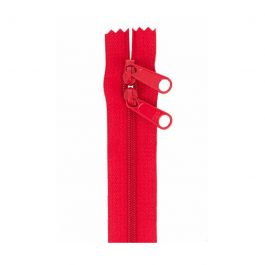 Handbag Zipper 40in Lipstick-Double-Slide