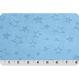 Embossed Star Cuddle® BabyBlue