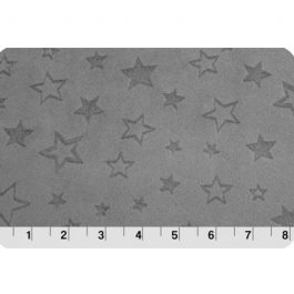 Embossed Star Cuddle® Charcoal