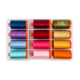 Aurifil Threads- The Perfect Box of Colors
