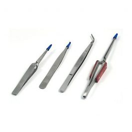 Tooltron Industries 4-pc Tweezers Set