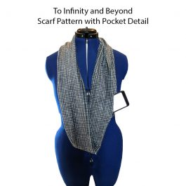 Pattern- Infinity Scarf with Pocket Detail