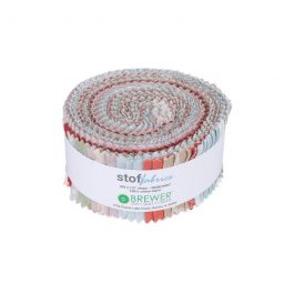 Stof Rose Mint Fabric Roll 40pc