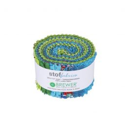 Stof Turquoise Green Fabric Roll 20pc