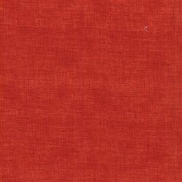"""""""Linen Print"""" Cotton Fabric- Scarlet Red"""